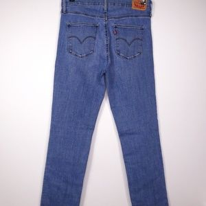 Levi's Jeans - Levi's Women's Slimming Straight Jeans High Rise